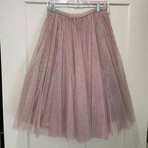 Jenny Yoo Collection tulle skirt